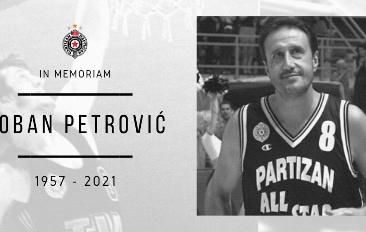 TUŽNA VEST: Preminuo legendarni košarkaš Partizana!