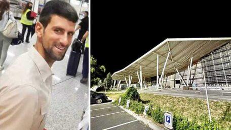 STIGAO: Đoković je juče sleteo na aerodrom u komšiluku i evo šta je prvo posetio!