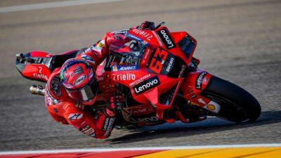 Vozač Dukatija slavio u uzbudljivoj završnici na trci Moto GP-a!