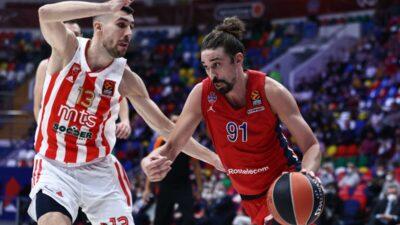 FALILO JE I SREĆE: Crvena zvezda poražena od CSKA u jako neizvesnom duelu! (VIDEO)