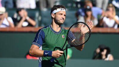 DIMITROV NE STAJE: Bugarin u polufinalu Indijan Velsa, a savladao je novog tenisera iz Top 10!